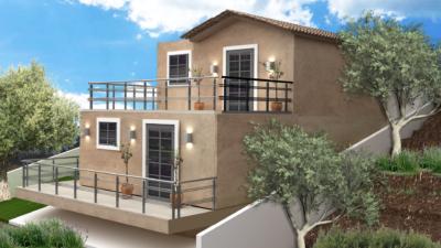 Φωτορεαλιστική απεικόνιση εξοχικής κατοικίας